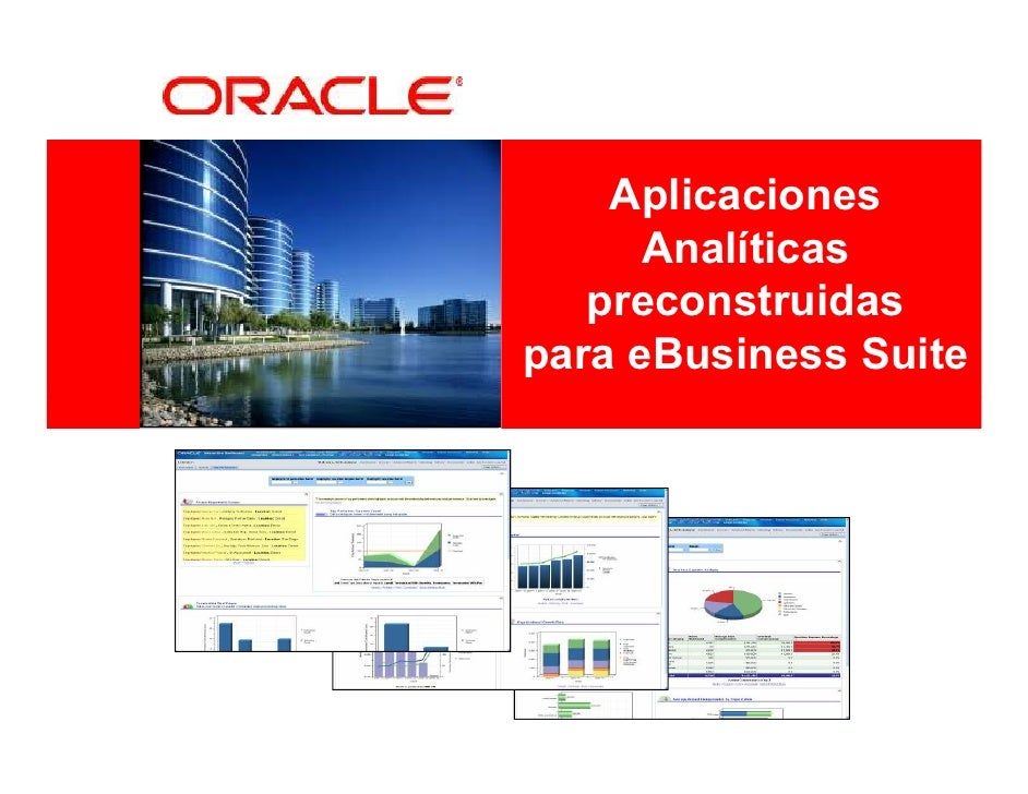 Presentacion EBS Customers Day 4 Aplicaciones Analiticas Preconstruidas