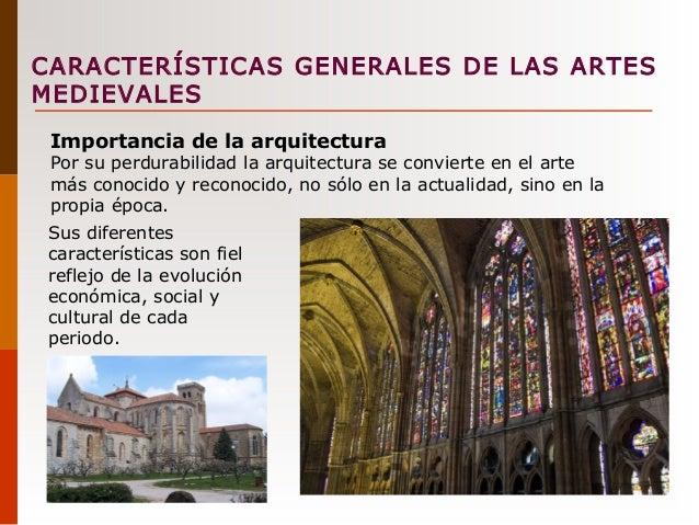 Contexto art stico de la edad media for Caracteristicas de la arquitectura