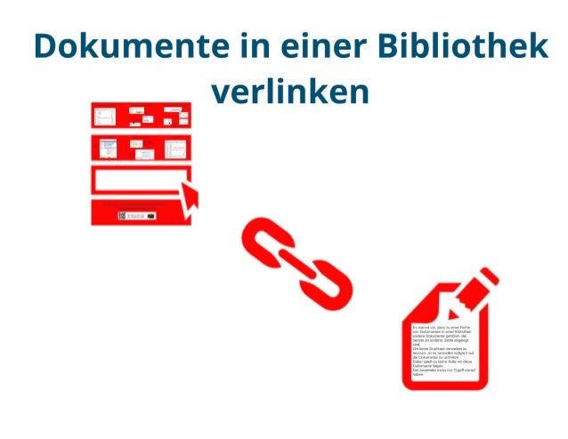 SharePoint Lektion #33: Dokumente verlinken