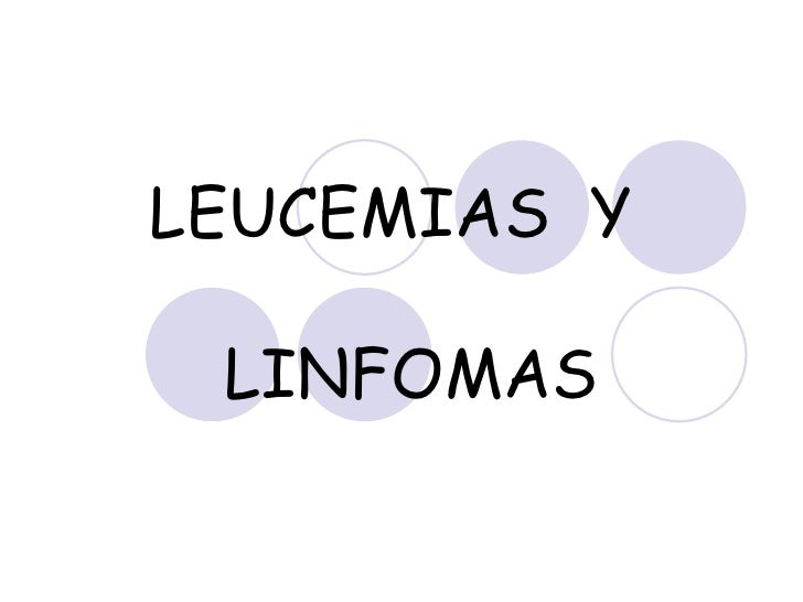 34.  Leucemias  Y