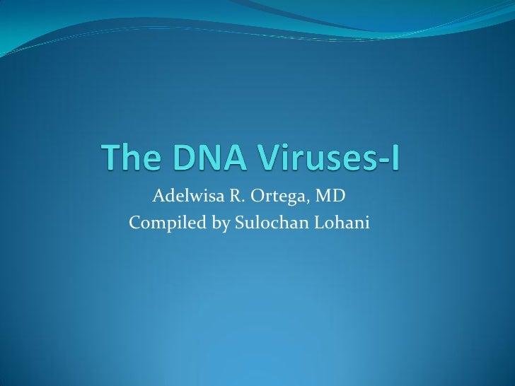 34. the dna viruses i