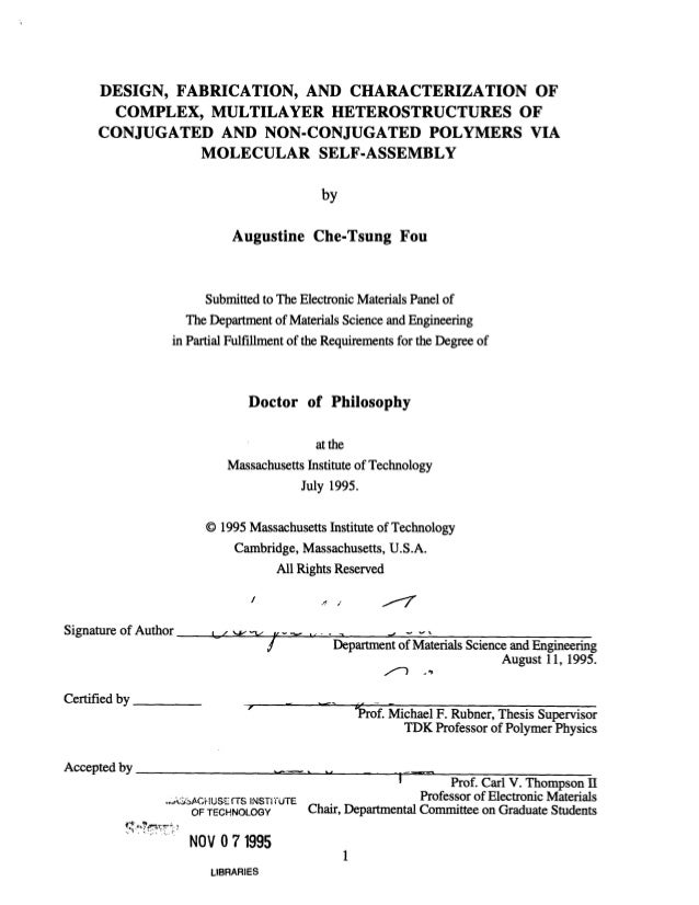 phd thesis materials Engineering design and materials (phprodmat) / dissertation supervising phd candidates and evaluating theses from his public defence of the thesis.