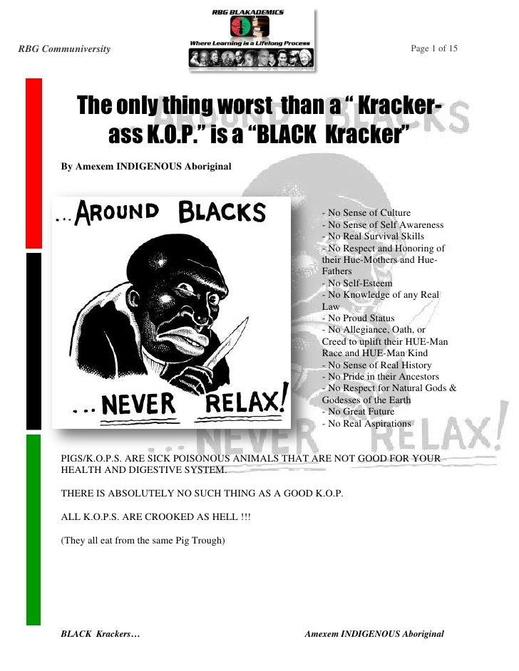 BLACK Krackers by Amexem Indigenous Aboriginal