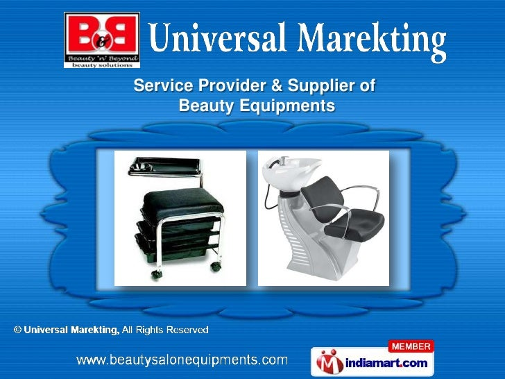 Service Provider & Supplier of     Beauty Equipments