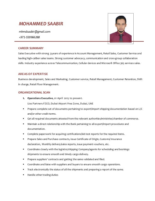 Insurance Sales Executive Resume Retail Executive Resumes Retail