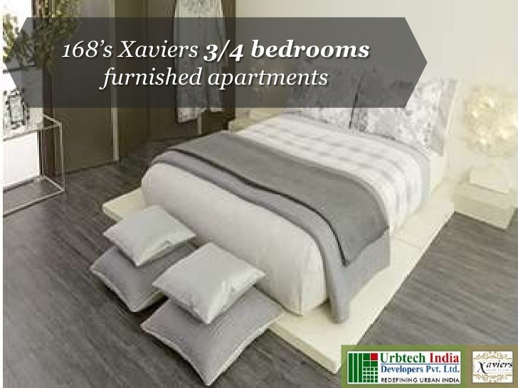 Xaviers Noida: 3 and 4 bedrooms furnished apartments by Urbtech India