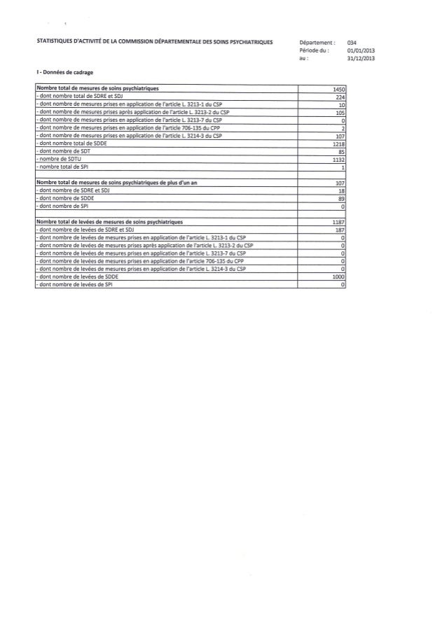 34 herault   annexe statistiques 2013