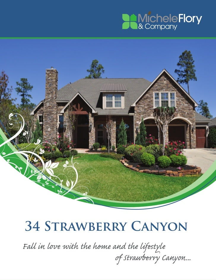 34 Strawberry CanyonFall in love with the home and the lifestyle                            of Strawberry Canyon...