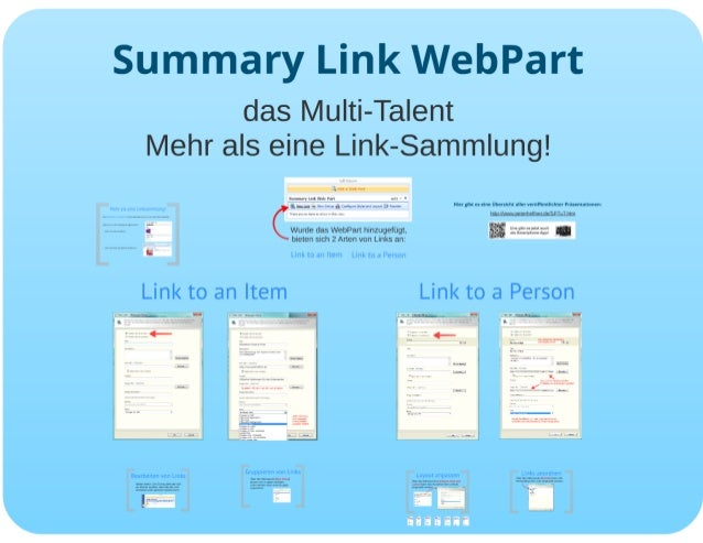SharePoint Lektion #34: Summary Link Webpart