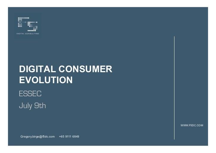 Digital Consumer ESSEC 090707