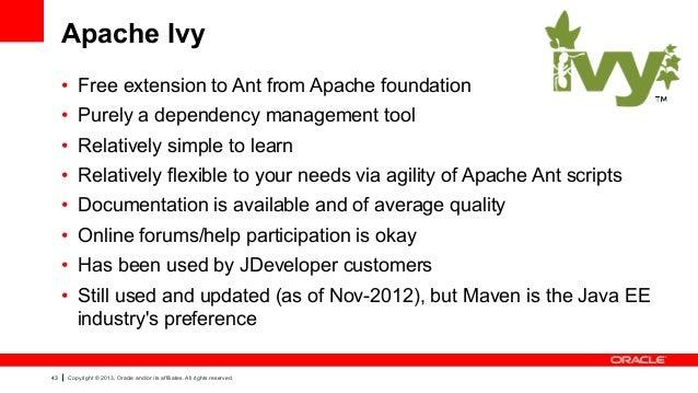 Apache Ivy full screenshot