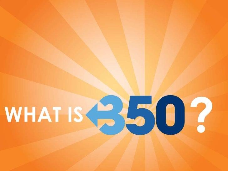 350.Org Power Point Slideshow