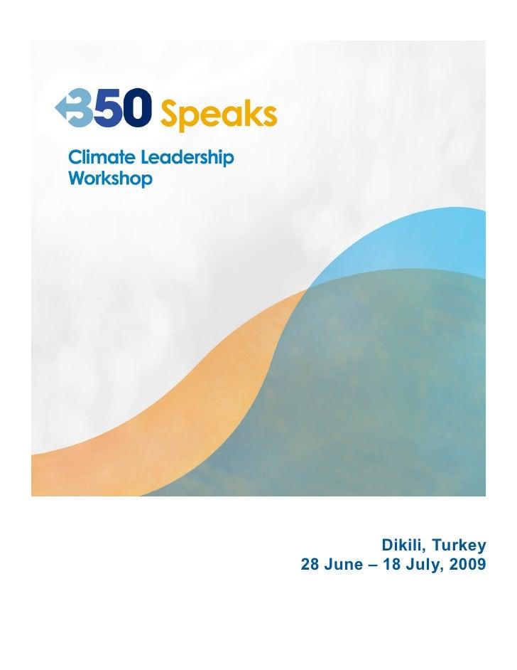 350.org workshop guide