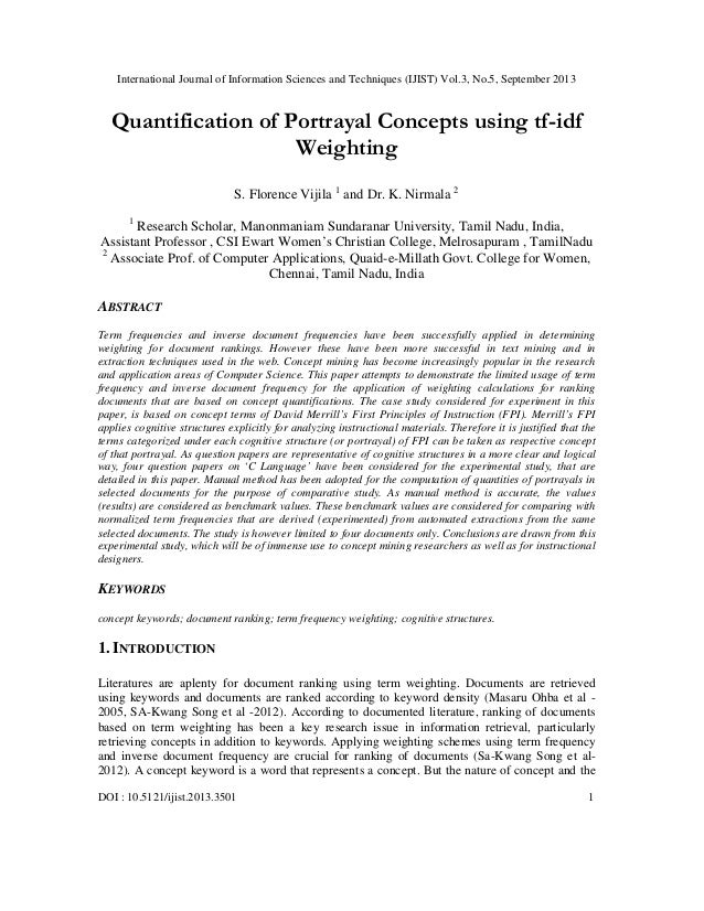 International Journal of Information Sciences and Techniques (IJIST) Vol.3, No.5, September 2013 DOI : 10.5121/ijist.2013....