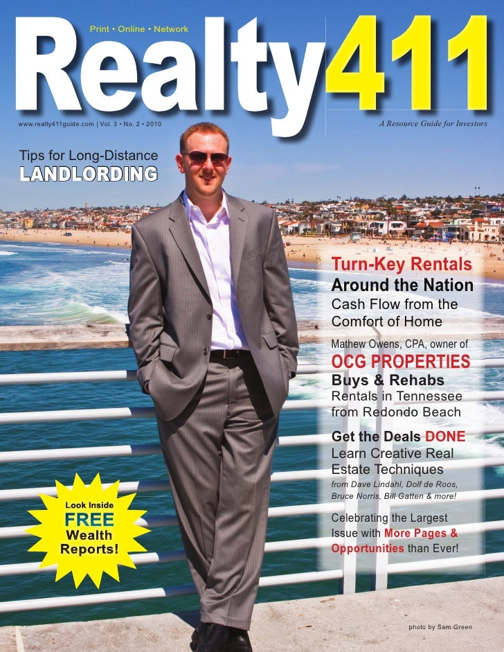 Realty411 The Real Estate Investor's Magazine