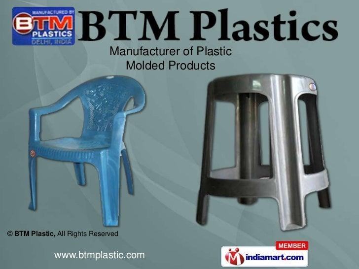 Inverter Trolley by BTM Plastic New Delhi