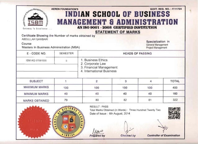 aeren foundation reg no f 11724 indian Aeren foundation s maharashtra govt reg no f-11724 an iso 9001 2008 certified international b-school name name to appear on the certificate ref no.