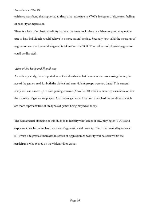 Dissertation game