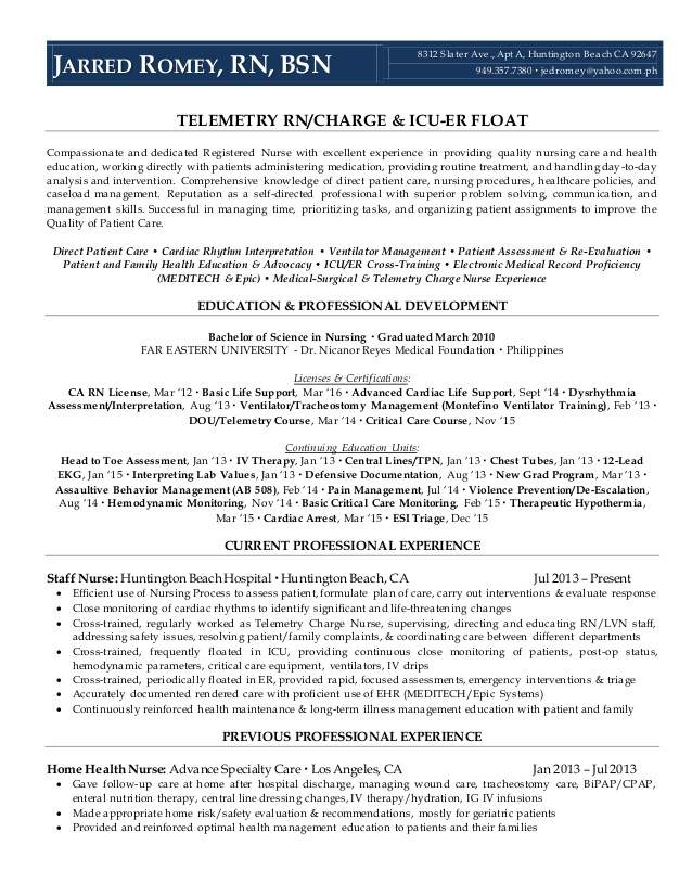 Resume from linkedin