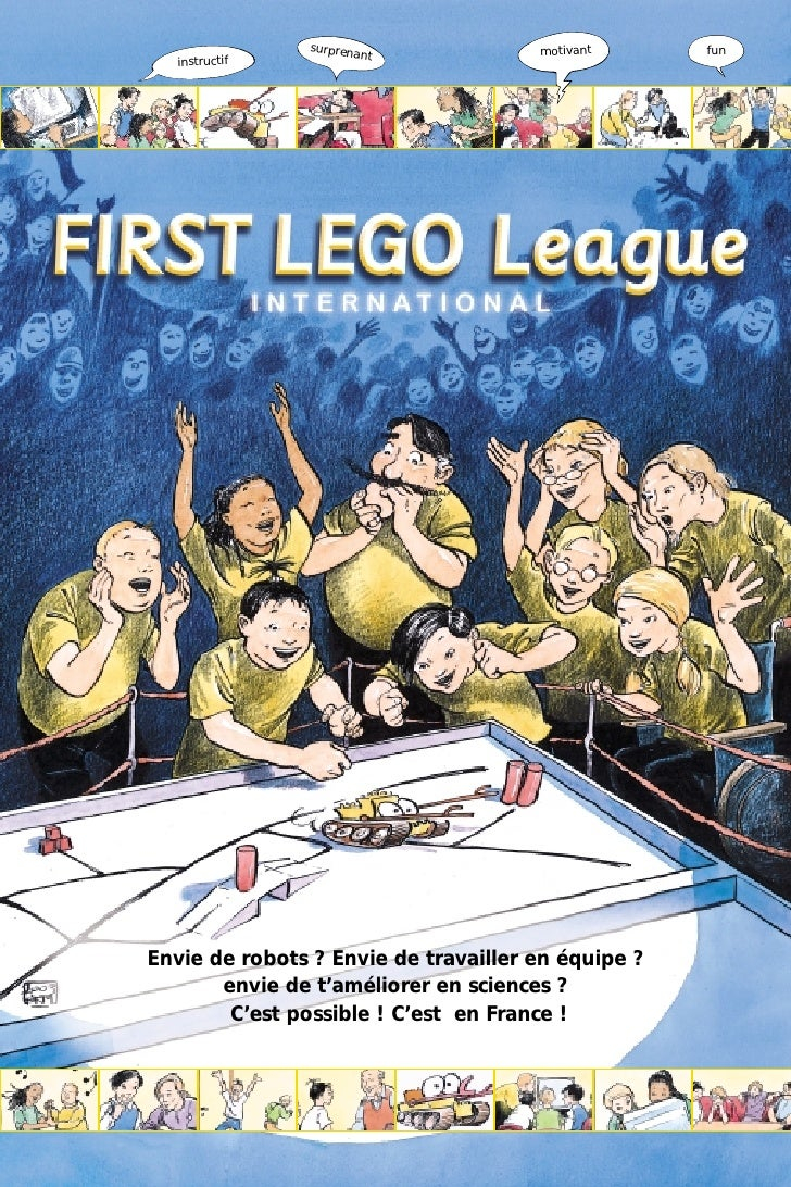FLL Comic Book (French)