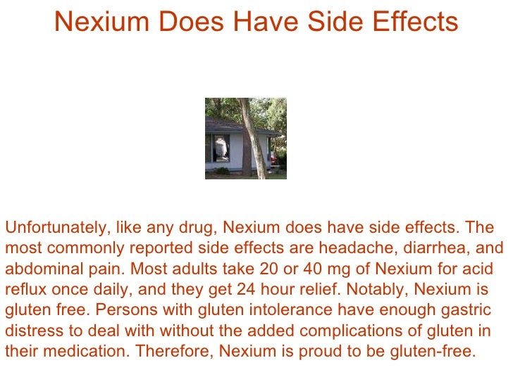 Benefits And Features Of Nexium Acid Reflux