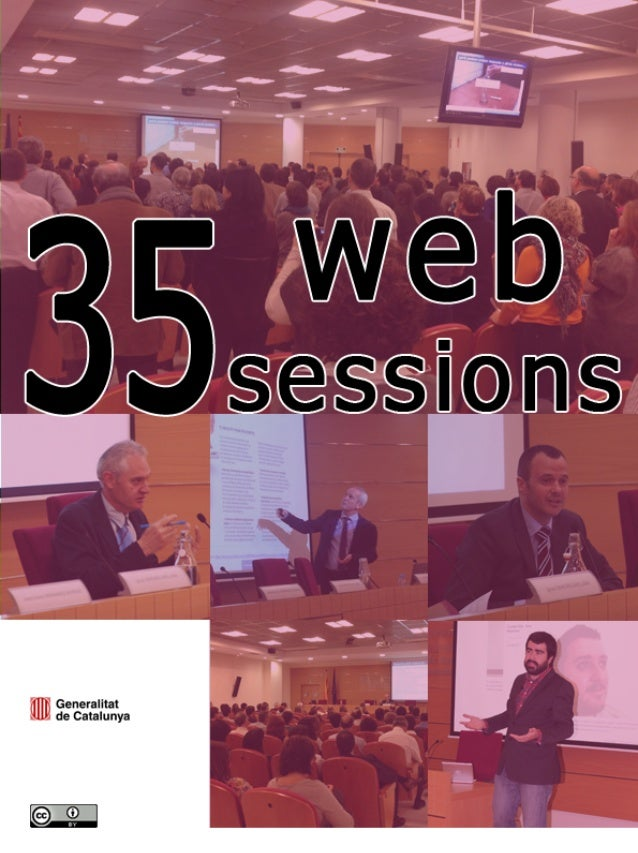 35 web sessions. Summaries