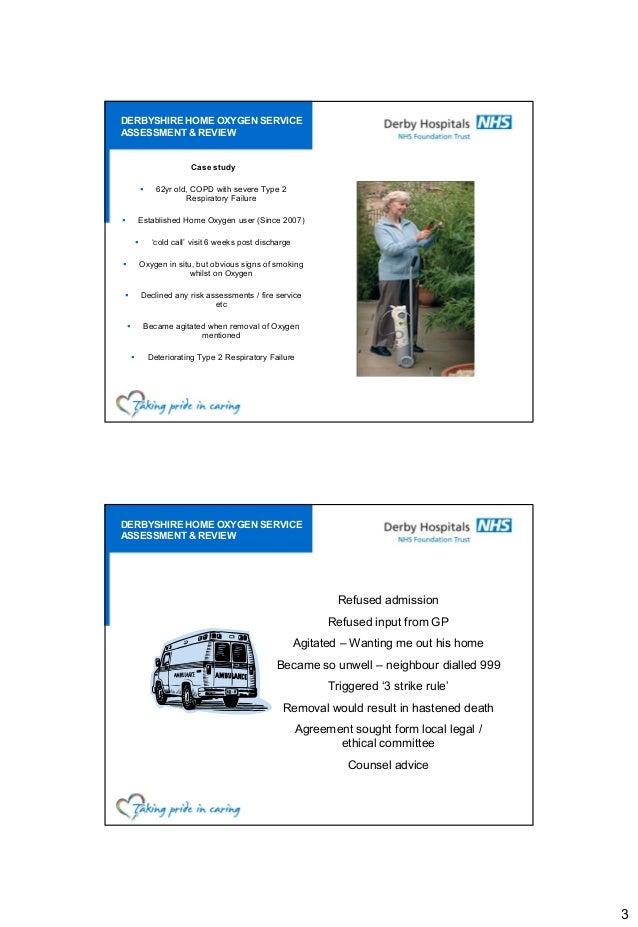 Nursing case study examples copd