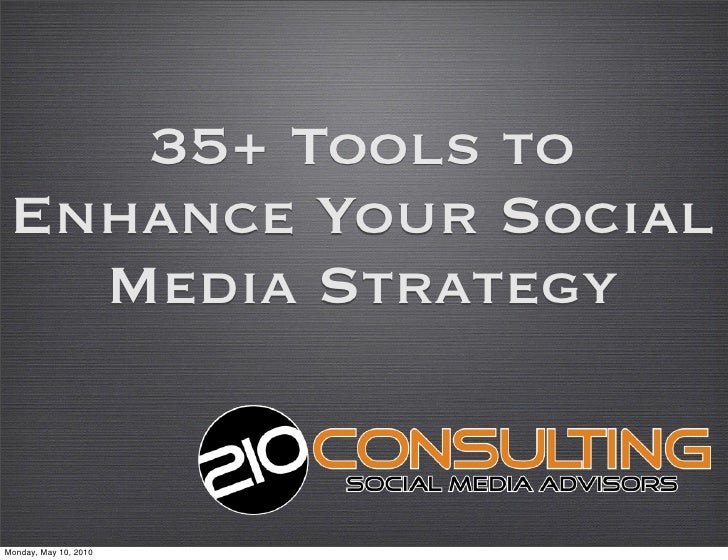 35+ Tools to Enhance Your Social Media Strategy