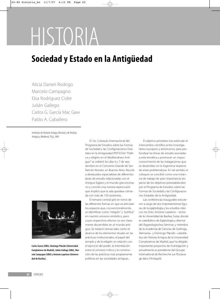 62-80 Historia_bn          11/7/07           4:12 PM           Page 62              HISTORIA              Sociedad y Estad...