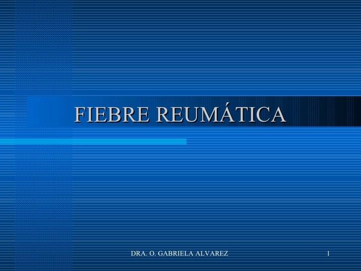36. )Endocarditis Y Fiebre ReumáTica