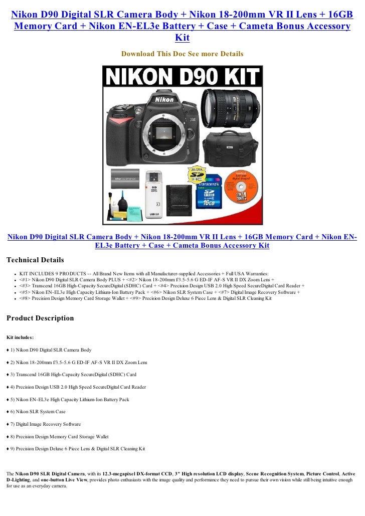 Lens 200mm Nikon Nikon 18-200mm vr ii Lens