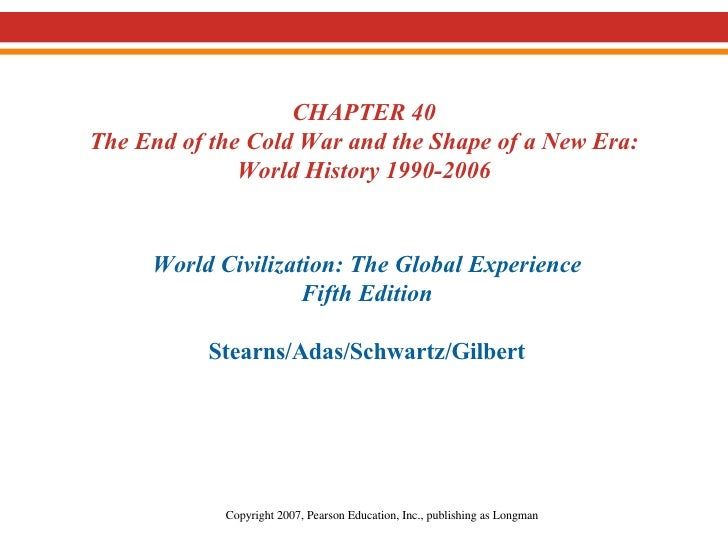 36.  The End of the Cold War