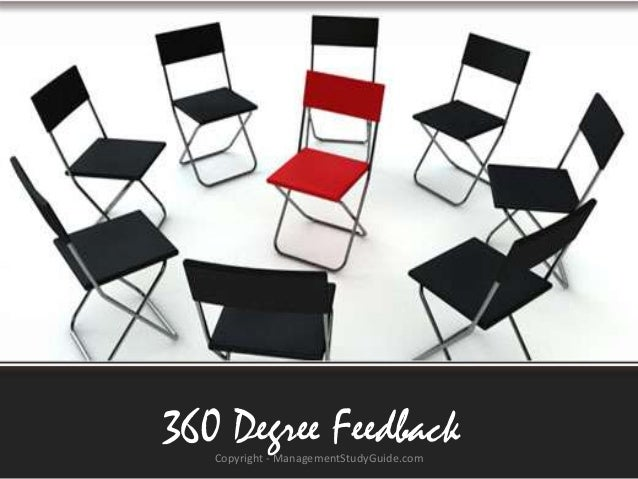 360 Degree Feedback Copyright - ManagementStudyGuide.com