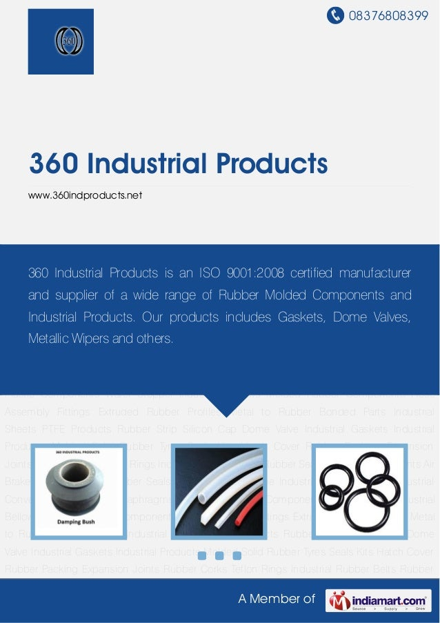 Industrial Rubber Seals By 360 industrial-products