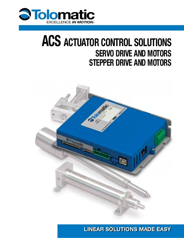 Acs controller stepper driver or servo driver creates for Low cost stepper motor