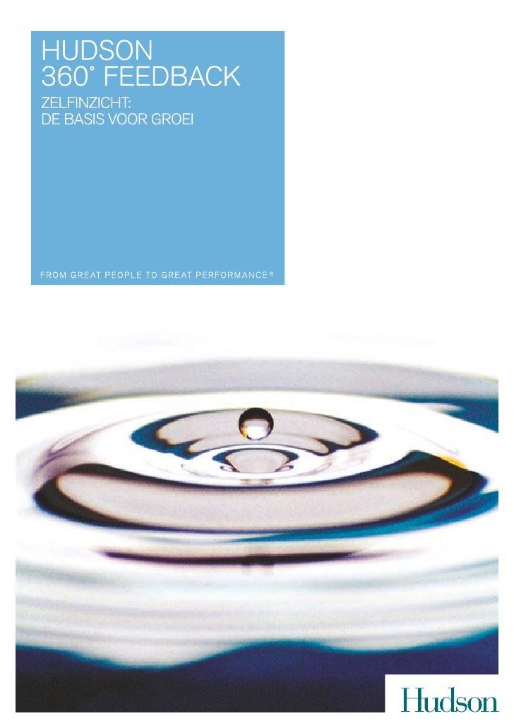 360 Feedback Brochure NL
