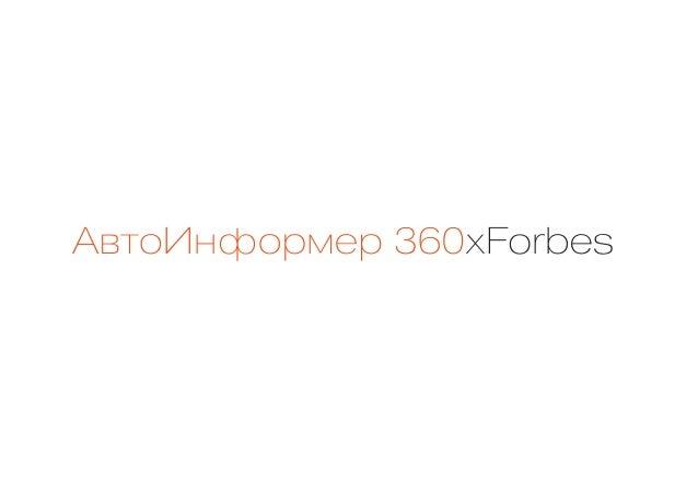 АвтоИнформер360хForbes