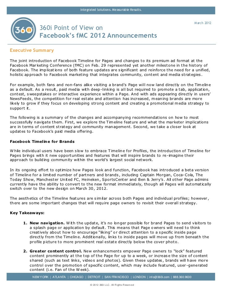 360i POV: Facebook's fMC 2012 Announcements