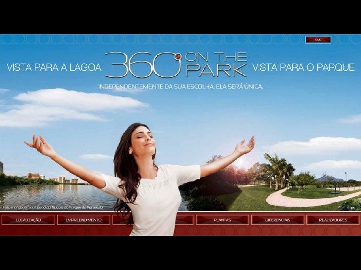 360 on the Park - Vendas (21) 3683-0700 ou www.imoveisdorj.com.br