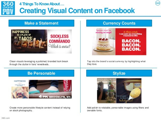 4 Things To Know About …                Creating Visual Content on Facebook                     Make a Statement          ...