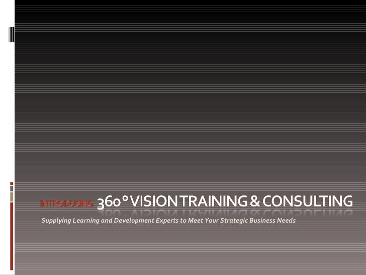 Introducing 360VTC
