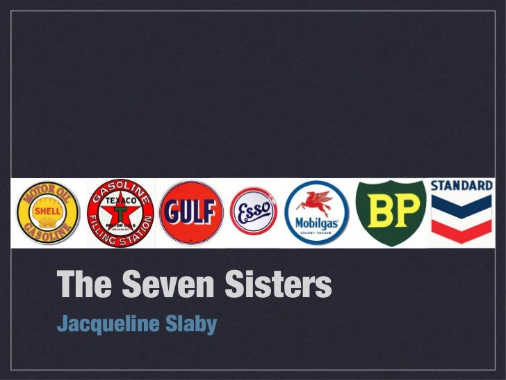 The Seven SistersJacqueline Slaby
