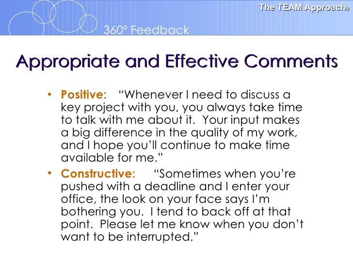 feedback essay