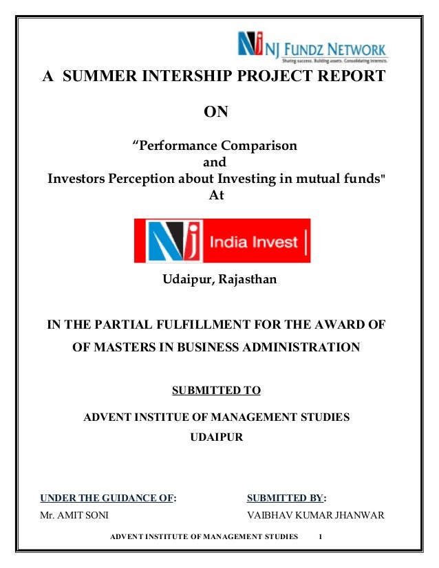 thesis on mutual funds performance in india The report titled mutual fund has been prepared to give an in-depth analysis of mutual fund industry in india and also a brief study of mutual fund structure outside india the report starts with the introduction of mutual fund, giving details about what mutual fund is all about.