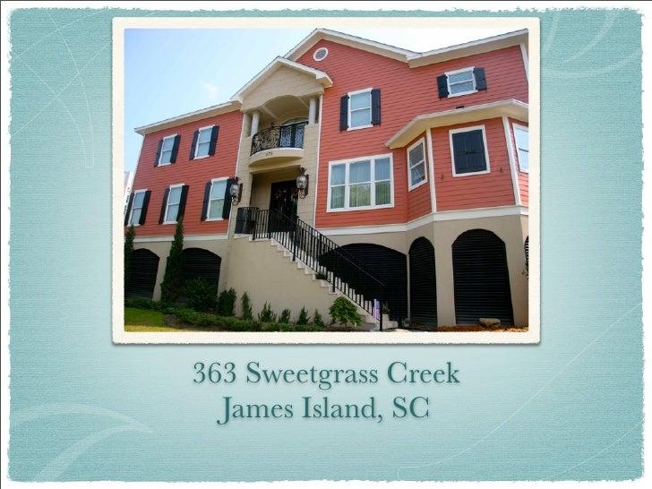 363 Sweetgrass Creek  James Island, SC