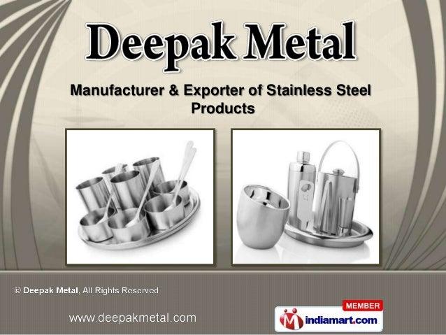 Deepak Metal Delhi India