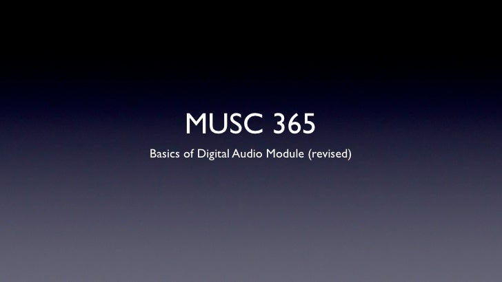 365 digital basics after