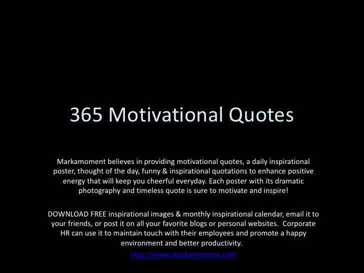 365 motivational quotes