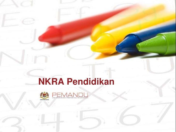 NKRA Pendidikan<br />