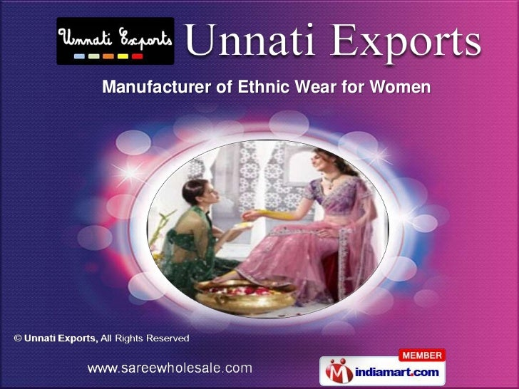 Manufacturer of Ethnic Wear for Women